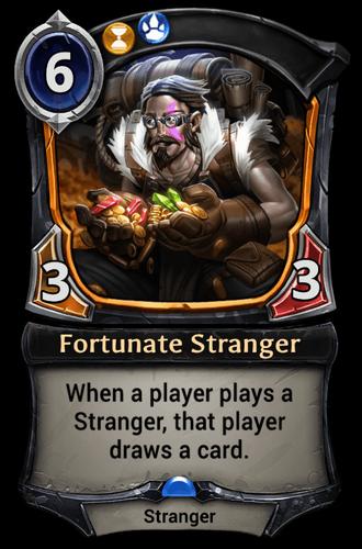 Fortunate Stranger card