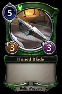 Honed Blade