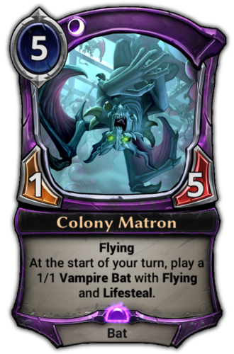 Colony Matron card