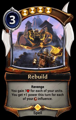 Rebuild card