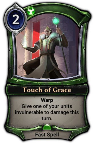 Touch of Grace card