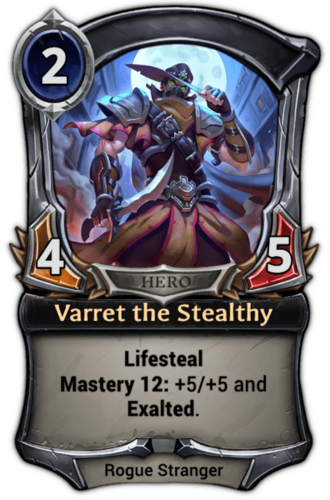 Varret the Stealthy card
