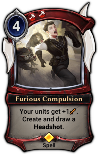 Furious Compulsion card
