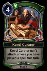 Kosul Curator