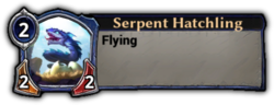 Serpent Hatchling Token