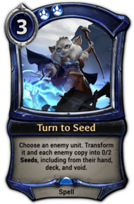Turn to Seed