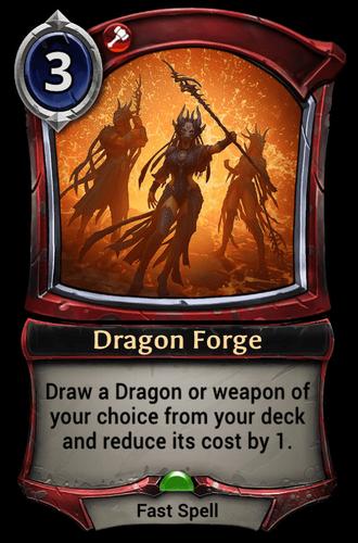 Dragon Forge card