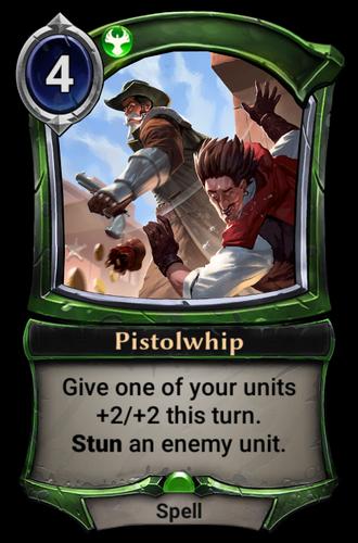 Pistolwhip card