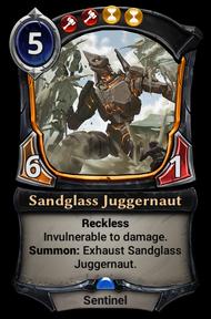 Sandglass Juggernaut