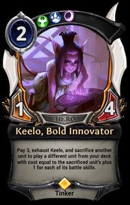 Keelo, Bold Innovator