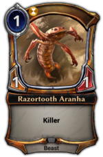 Razortooth Aranha