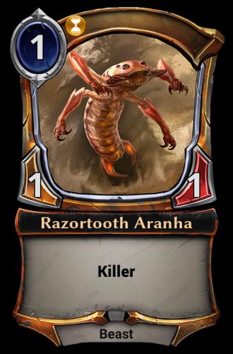Razortooth Aranha card