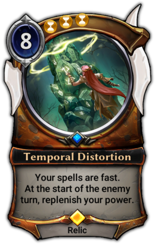 Temporal Distortion card