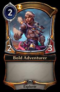 Bold Adventurer