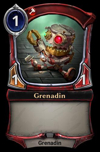 Grenadin card