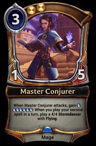 Master Conjurer card