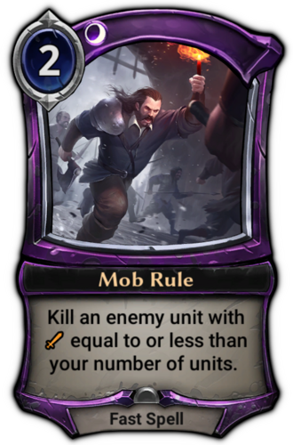 Mob Rule card