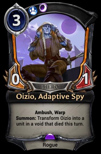 Oizio, Adaptive Spy card