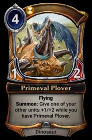 Primeval Plover