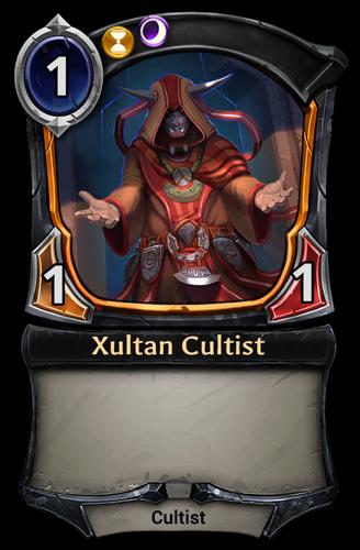 Xultan Cultist card