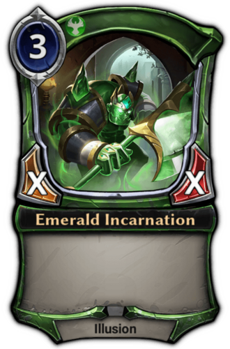 Emerald Incarnation card