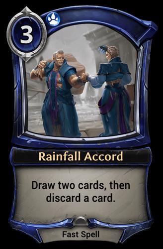 Rainfall Accord card