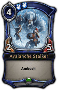 Avalanche Stalker