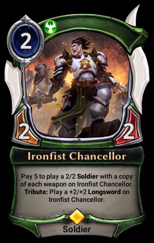 Ironfist Chancellor card
