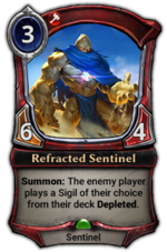 Refracted Sentinel