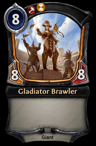 Gladiator Brawler card