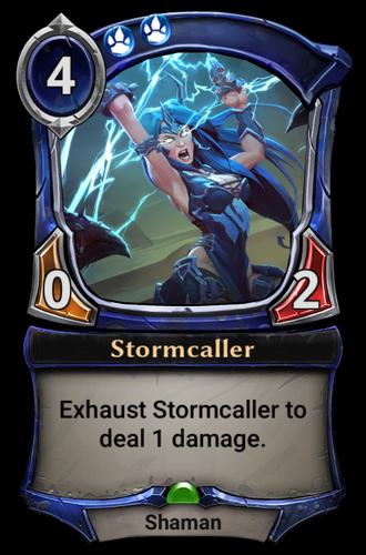 Stormcaller card