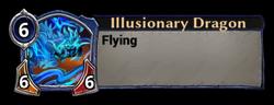 Illusionary Dragon Token