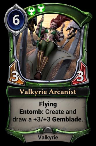 Valkyrie Arcanist card