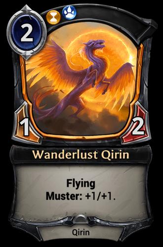 Wanderlust Qirin card