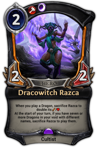 Dracowitch Razca card