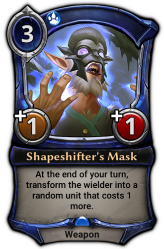 Shapeshifter's Mask card