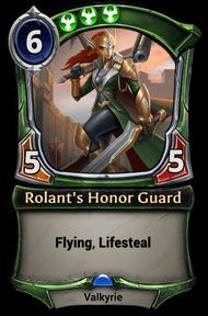 Rolant's Honor Guard