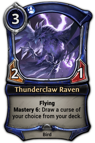 Thunderclaw Raven card