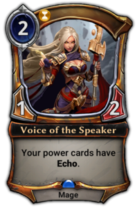 Voice of the Speaker