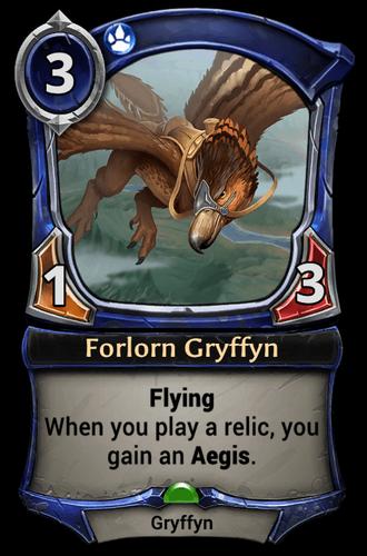 Forlorn Gryffyn card