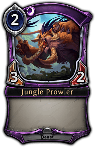 Jungle Prowler card