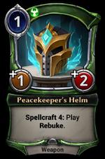 Peacekeeper's Helm
