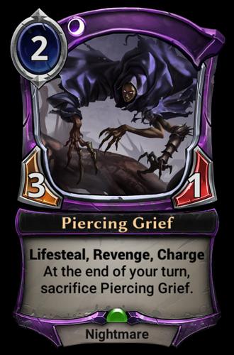 Piercing Grief card
