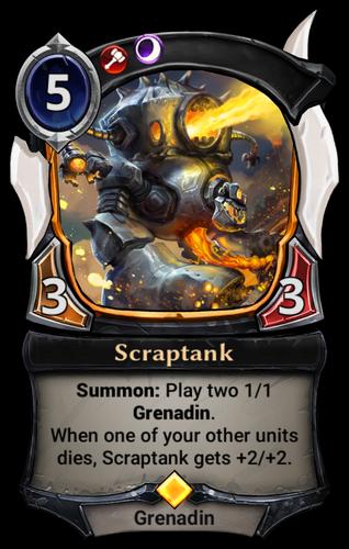 Scraptank card