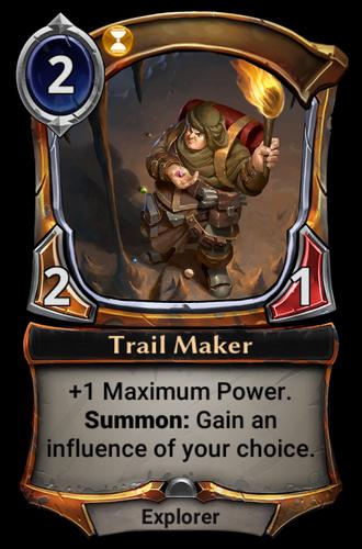 Trail Maker card