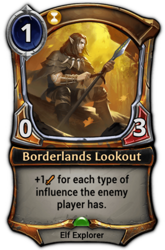 Borderlands Lookout card