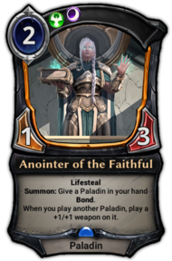 Anointer of the Faithful