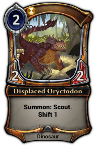 Displaced Oryctodon card