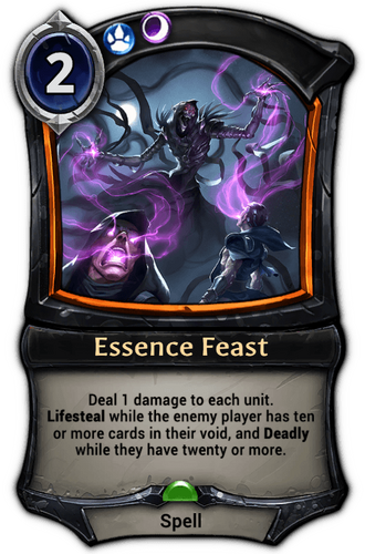 Essence Feast card