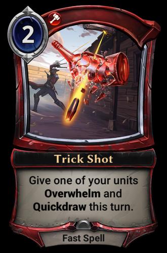 Trick Shot card